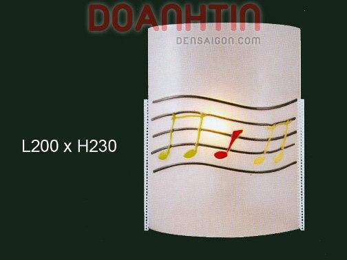 Đèn Tường Kiếng Thiết Kế Tối Giản - Densaigon.com