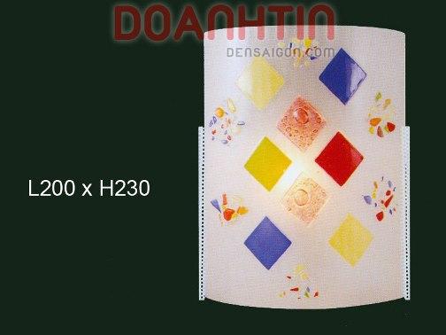 Đèn Tường Kiếng Màu Sắc Nhẹ Nhàng - Densaigon.com