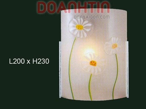 Đèn Tường Kiếng Thiết Kế Trang Nhã - Densaigon.com