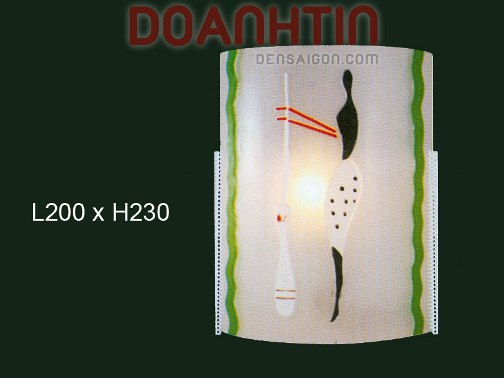 Đèn Tường Kiếng Thiết Kế Tinh Tế - Densaigon.com