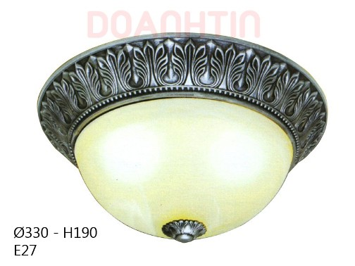 Đèn Áp Trần Cổ Điển Cao Cấp Thiết Kế Đẹp - Densaigon.com