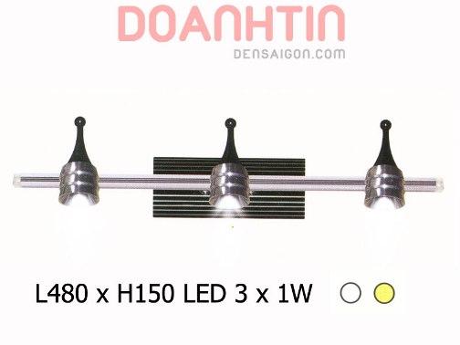 Đèn Soi Gương LED Phong Cách Mạnh Mẽ - Densaigon.com