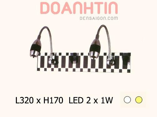 Đèn Soi Gương LED Màu Đen - Densaigon.com