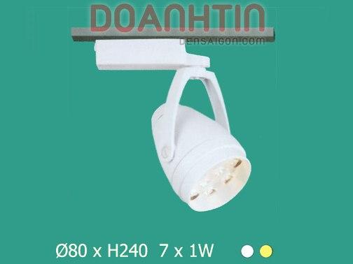LED Track Màu Trắng - Densaigon.com