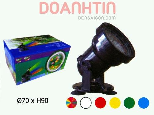 Đèn Pha Dưới Nước Màu Đen - Densaigon.com