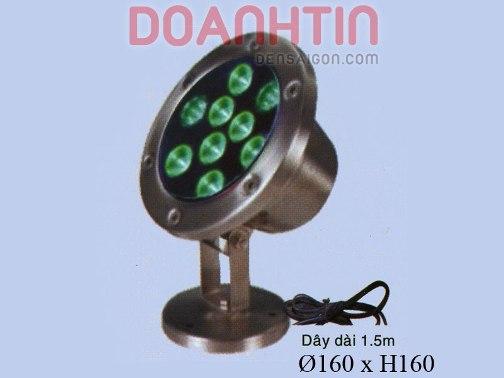 Đèn Pha Dưới Nước Màu Xanh Lá - Densaigon.com
