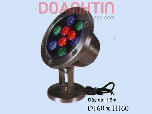 Đèn Pha Dưới Nước Đổi Màu - Densaigon.com