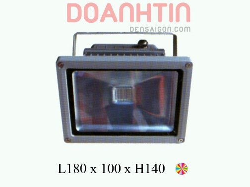 Pha LED 7 Màu Phong Cách Cuốn Hút - Densaigon.com