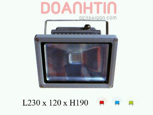 Pha LED Đỏ - Dương - Lá Kiểu Dáng Lôi Cuốn - Densaigon.com