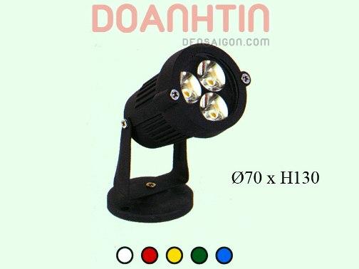 Đèn Pha 5 màu - Densaigon.com