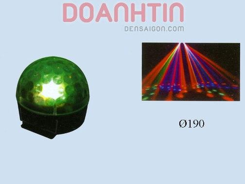 Đèn Nhím LED Màu Xanh Lục - Densaigon.com