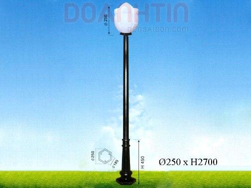 Đèn Trụ Khuôn Viên Màu Sắc Nhẹ Nhàng - Densaigon.com