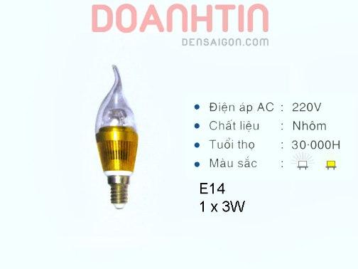 Bóng Nến LED Ánh Sáng Dịu - Densaigon.com