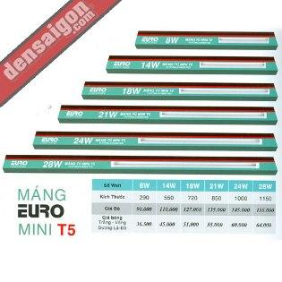 Máng EURO Mini T5 Giá Rẻ