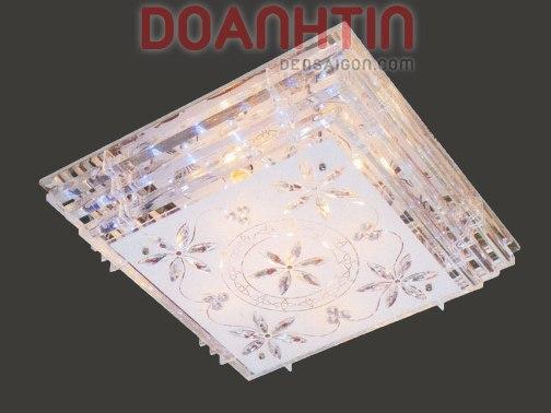 Đèn Chùm LED Vuông Đẹp Lung Linh Treo Phòng Ngủ - Densaigon.com