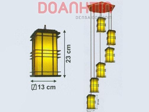 Đèn Thả Da Dê Thiết Kế Lạ Mắt - Densaigon.com
