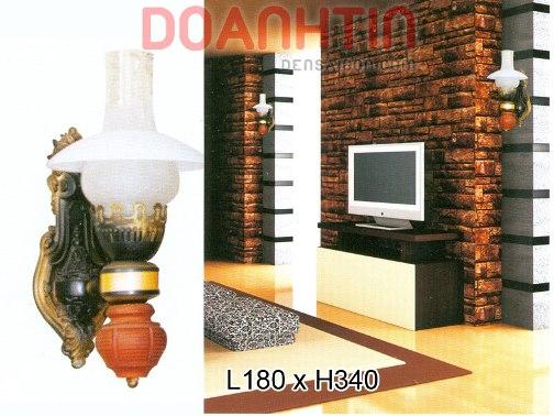 Đèn Tường Cổ Kiểu Dáng Lôi Cuốn - Densaigon.com