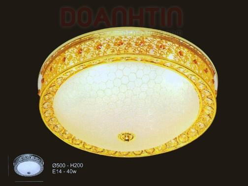 Đèn Chùm LED Tròn Thiết Kế Lôi Cuốn - Densaigon.com