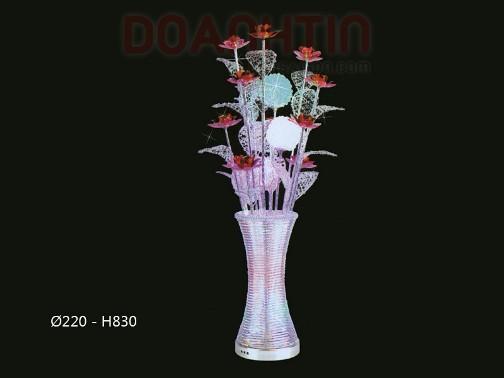 Đèn Bàn LED Thiết Kế Bình Hoa Đẹp - Densaigon.com