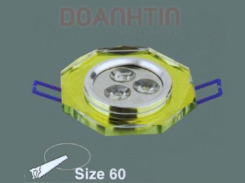 Đèn Mắt Ếch Pha Lê Thiết Kế Nhẹ Nhàng - Densaigon.com