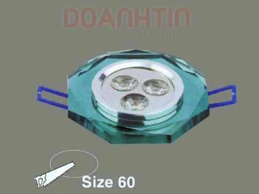 Đèn Mắt Ếch Pha Lê Thiết Kế Bắt Mắt - Densaigon.com
