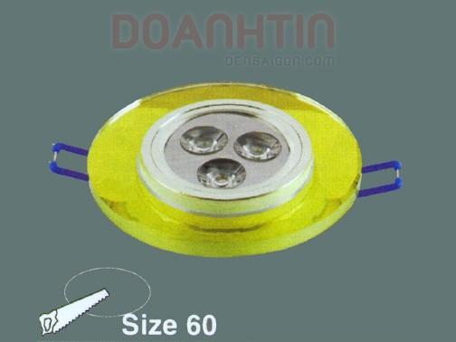 Đèn Mắt Ếch Pha Lê Thiết Kế Đẹp - Densaigon.com