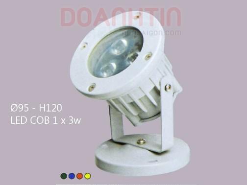Đèn Cắm Cỏ Kiểu Dáng Hiện Đại - Densaigon.com