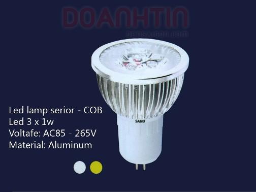 Bóng Đèn LED MR16 S2704 - Densaigon.com