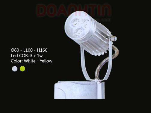 Đèn Rọi Tiêu Điểm LED Cao Cấp Thiết Kế Gọn - Densaigon.com