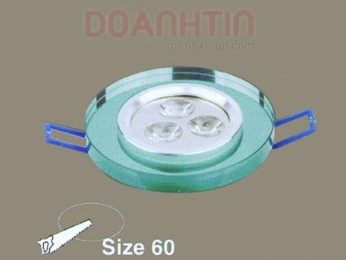 Đèn Mắt Ếch Pha Lê Thiết Kế Nhỏ Gọn - Densaigon.com