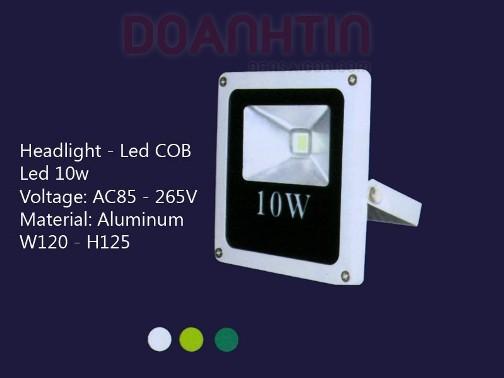 Đèn Pha LED 10w S2710 - Densaigon.com