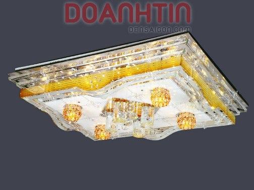 Đèn Chùm LED Chữ Nhật Thiết Kế Cổ Điển - Densaigon.com