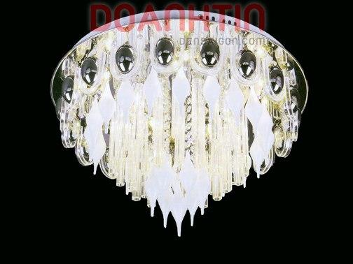 Đèn Chùm LED Tròn Kiểu Cổ Điển - Densaigon.com