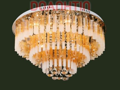 Đèn Chùm LED Tròn Đẹp Giá Rẻ Dạng Tầng - Densaigon.com