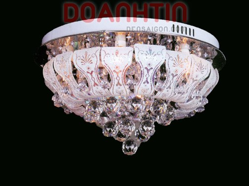 Đèn Chùm LED Tròn Đổi Màu Trang Trí Phòng Ăn - Densaigon.com