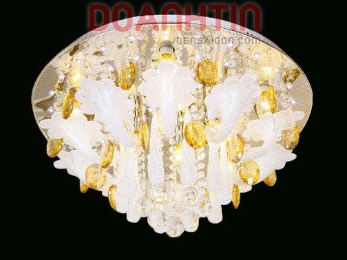Đèn Chùm LED Tròn Đẹp Tang Trí Nội Thất Biệt Thự  - Densaigon.com