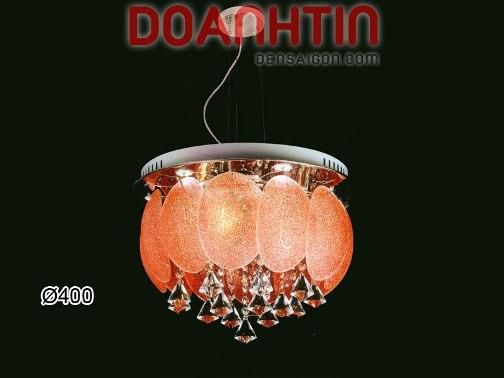 Đèn Chùm Thả Kiểu Ý Màu Đỏ Thiết Kế Đẹp - Densaigon.com