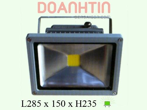 Đèn Pha LED Dương Lá Đỏ - Densaigon.com