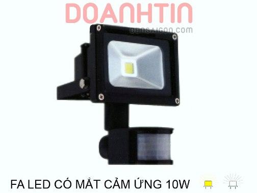 Pha LED Có Mắt Cảm Ứng 10w - Densaigon.com