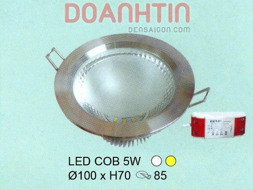 Đèn Ếch LED Thiết Kế Gọn - Densaigon.com