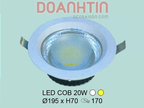 Đèn Mắt Ếch LED Cao Cấp - Densaigon.com