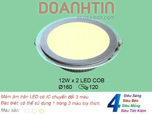 Đèn Mâm Âm Trần Giá Cực Rẻ Hình Tròn - Densaigon.com