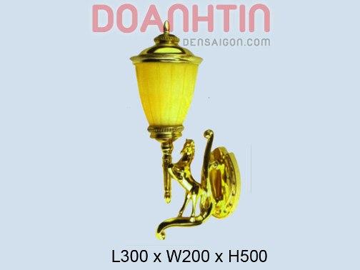 Đèn Tường Đồng Hình Ngựa Thiết Kế Lạ Mắt - Densaigon.com