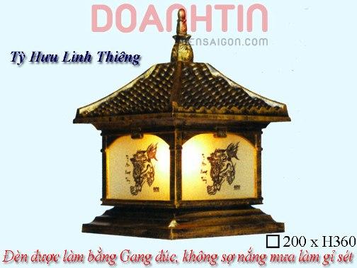 Đèn Gắn Cổng Giả Đồng Kiểu Dáng Lôi Cuốn - Densaigon.com