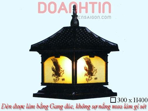 Đèn Cổng Đẹp Kiểu Dáng Cầu Kỳ - Densaigon.com