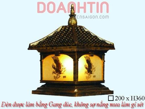 Đèn Gắn Cổng Kiểu Dáng Cổ Điển - Densaigon.com