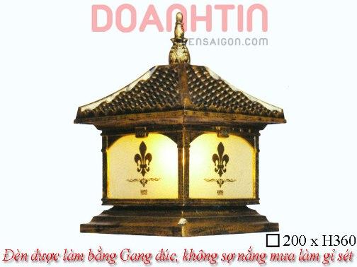 Đèn Cổng Giả Đồng Đẹp Thiết Kế Hài Hòa - Densaigon.com