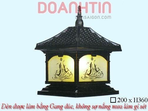 Đèn Cổng Đẹp Thiết Kế Nổi Bật - Densaigon.com