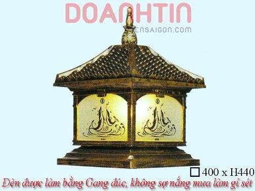 Đèn Cổng Giả Đồng Đẹp Thiết Kế Cầu Kỳ - Densaigon.com