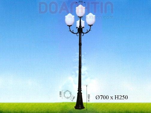 Đèn Trụ Công Viên Ánh Sáng Dịu - Densaigon.com